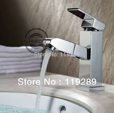 Chrome Bathroom Faucet Aliexpress Com Buy Pull Out Faucet Design For Washing Hair And