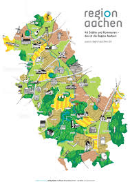 Aachen Germany Map by Illustrated Tourist Map Of The Aachen Region U2013 Jeffrey Postma