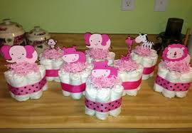 Diaper Cake Centerpieces by Easy To Make Baby Shower Centerpieces Ideas For Baby Shower