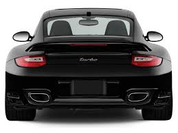 porsche carrera back image 2011 porsche 911 2 door coupe turbo rear exterior view