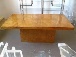 milo baughman dining table milo baughman burl dining table dining room table tables and room