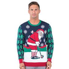 santa sweater travismathew golfing santa sweater pga tour superstore