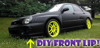 nissan altima coupe front lip how to diy home depot front lip youtube