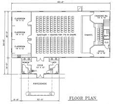 amazing design of small church floor plans
