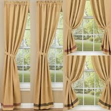 Country Curtains Sturbridge Plaid by Country Style Drapes And Swags From Ihf And Park Designs