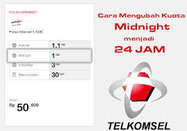 setting anonytun midnight cara mengubah kuota midnight menjadi 24 jam telkomsel terbaru 2018