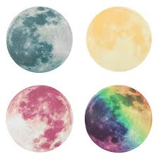 fluorescent moon wall stickers home decor decoration glow in the fluorescent moon wall stickers home decor decoration glow