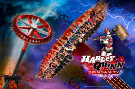 Six Flags Agawam Mass Harley Quinn Spinsanity To Debut At Six Flags New England