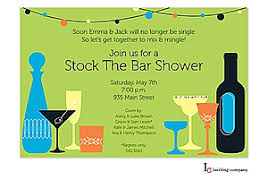 stock the bar party stock the bar shower party invitations new selections winter 2017