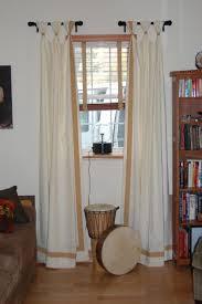 dining room drapes ideas casual window treatments basics polyester