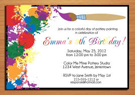 invitation card for a birthday party festival tech com
