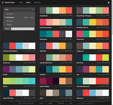 good colour schemes good color schemes concept adorable how you can use adobe kuler