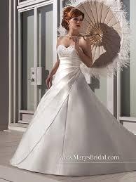 marys bridal s bridal ivory multi satin f14 6283 feminine