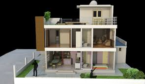Modern Box House The Box House Taytay Rizal Box Houses And Sectional Perspective