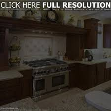 Kitchen Decorations For Above Cabinets Kitchen 17 U2013 Brown White Kitchen Decorating Ideas Using White