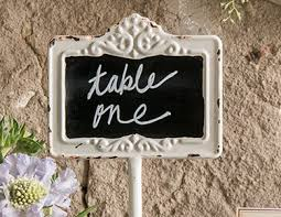 table numbers with pictures wedding table numbers the knot shop