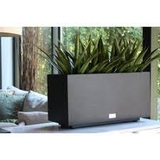 Tall Galvanized Planter by Veradek Metallic Series Long Galvanized Steel Planter Box
