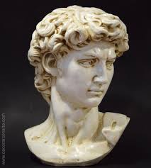 Michelangelo David Statue Bust Of David By Michelangelo 45x60cm Sale Of Art Statues