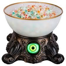 halloween animated crystal ball candy bowl hyde and eek