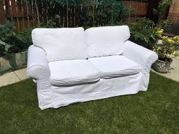 Second Hand Garden Furniture Merseyside Lovely Ikea White Two Seater Sofa With Removable Washable Covers