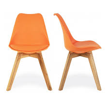 dining rooms awesome upholstered dining chairs orange orange