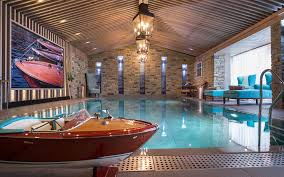 hummer limousine with swimming pool luxury ski chalet amethyst apartment courchevel 1850 france