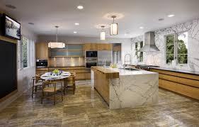 Kitchen Marble Design The Granite Gurus Statuary Marble Kitchen In A Mid Century Home