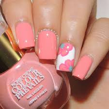 best 25 coral nails ideas on pinterest coral nail designs