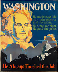 motivational poster featuring george washington does well at