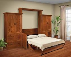 solid wood amish murphy beds desk murphy wall bed croftandspire com