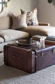 sarreid laramie trunk coffee table a collection of boxes trunks