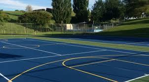 Backyard Tennis Courts by Multi Sport Backyard Courts Optimizing Sport Surfaces