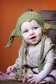 Crochet Baby Halloween Costumes Yoda Bad Longer Tiny Baby Dress Child