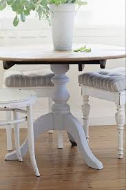 Cottage Kitchen Tables by Kitchen Table Makeover Life By The Sea Life By The Sea
