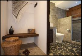 the natural stone bathroom home design