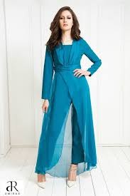 teal jumpsuit muni jumpsuit contemporary modest wear islamic fashion by amirab