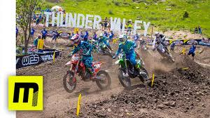 pro motocross racer 2017 pro motocross round 3 thunder valley 450 moto 1 hd youtube
