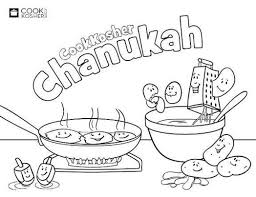 chanukah hanukkah coloring pages jewish all around the year 414240