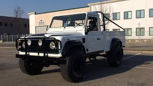 lifted land rover defender 1988 land rover defender 110 pickup s104 houston 2017