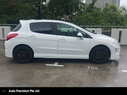 city peugeot used cars buy used peugeot 308 1 6 a turbo glass roof car in singapore