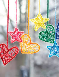 caron hearts and stars dream catchers non needle pattern