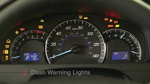 toyota camry dashboard camry how to dashboard warning lights 2014 5 toyota camry