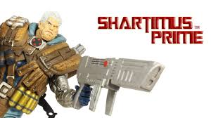 marvel select cable diamond select toys action figure review youtube
