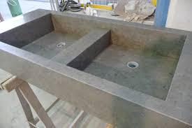 vasque de cuisine evier en granit et naturel cuisine douillet de newsindo co