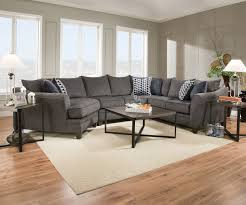 Blue Reclining Sofa by Furniture Simmons Sectional For Comfortable Seating U2014 Threestems Com