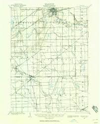 Howell Michigan Map by Ypsilanti Mi U20141902 Map From The Usgs Historical Topographic Map