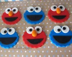 elmo cupcakes elmo cupcakes etsy
