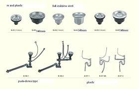 Kitchen Sink Parts Kitchen Sink Drain Parts Bathroom Sink Plumbing Parts With Best Of