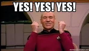 Star Trek Meme Generator - yes yes yes joyful star trek meme generator