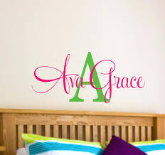 Personalized Wall Decals For Nursery Personalized Wall Decals Names Name Wall Decal Name Wall